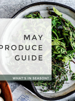 What's In Season? May Produce Guide.