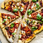 Easy Caprese Pizza