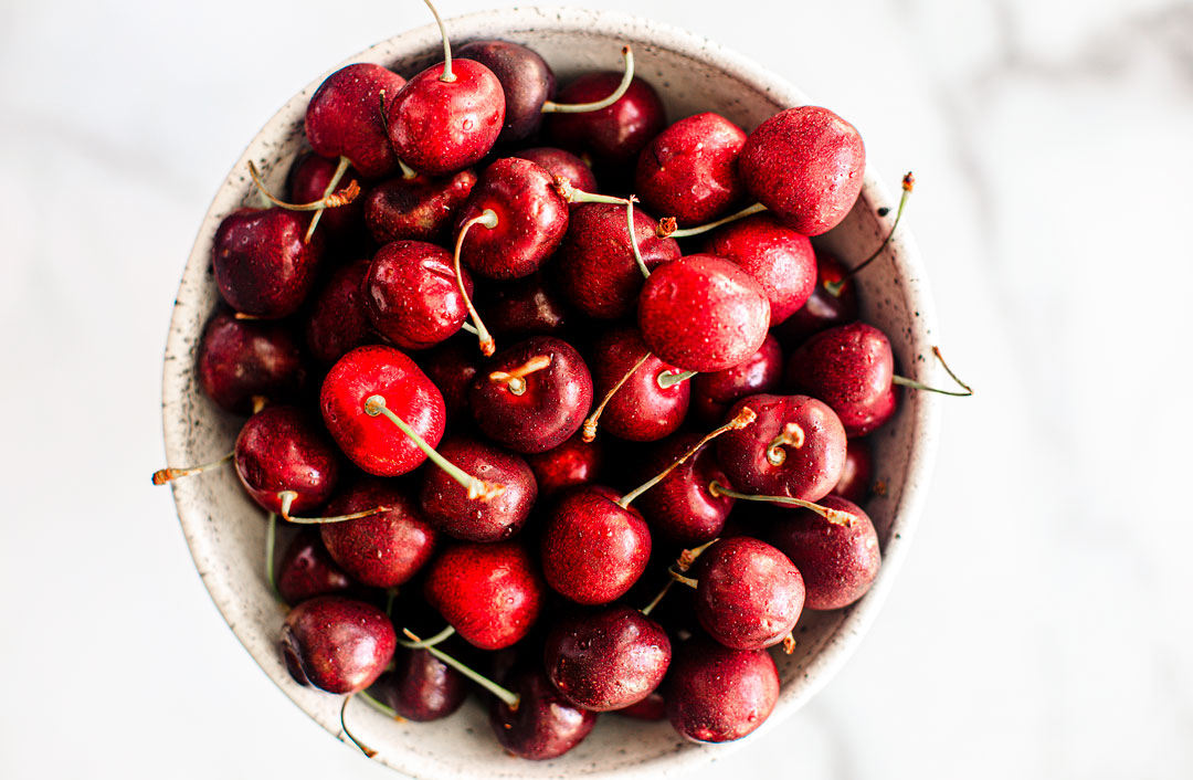 Bowl of cherries.
