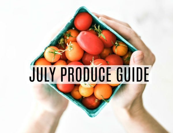 July Produce Guide.