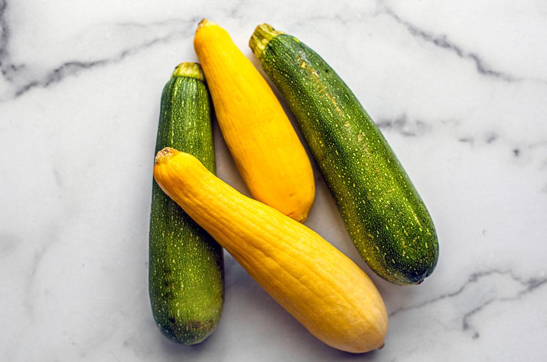 Summer squash and zucchini.