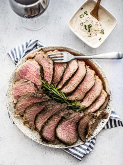 Salt and Pepper Crusted Roast Beef