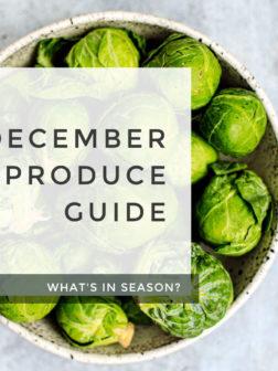 What's In Season? December Produce List.