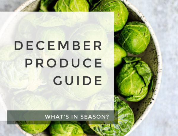 December Produce Guide.