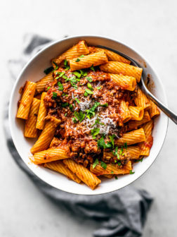 Instant Pot Bolognese with Ground Turkey