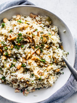 Easy Coconut Ginger Instant Pot Rice