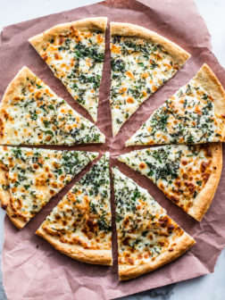 Herb and Garlic Cheese Pizza