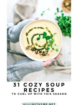 31 Cozy Soup Recipes PIN.
