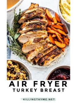 Best Air Fryer Turkey Recipe Pin.