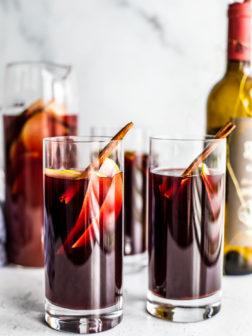 Caramel Apple Red Sangria Recipe