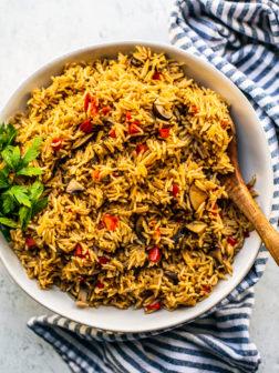 Simple Instant Pot Rice Pilaf